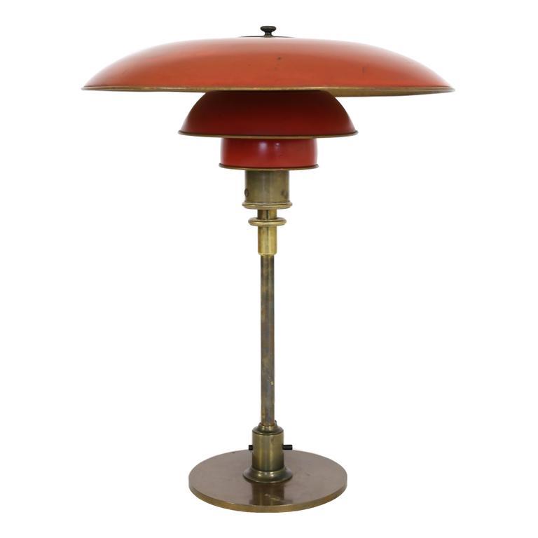 Poul Henningsen Table Lamp, 1927, Pat. Appl 1