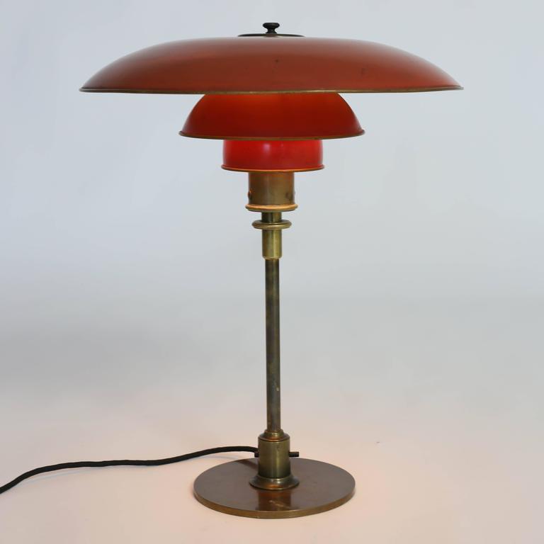 Poul Henningsen Table Lamp, 1927, Pat. Appl 4