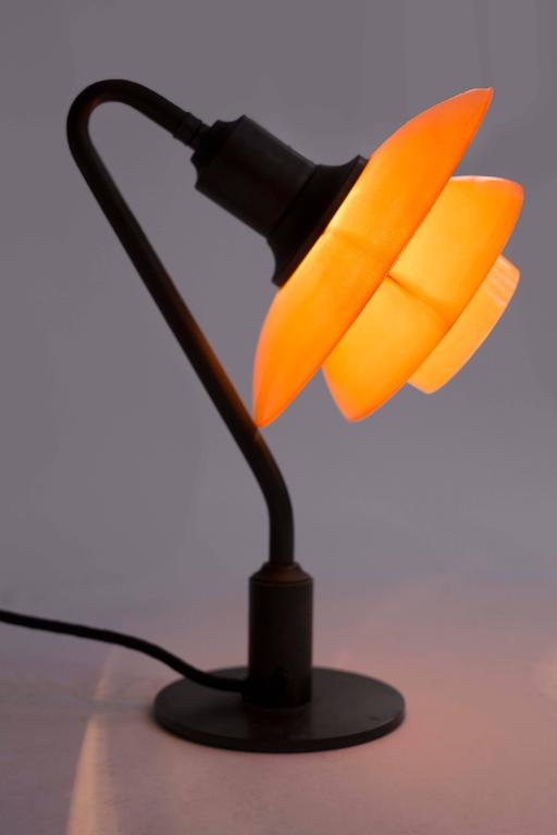 Early Poul Henningsen 2/2 Table Lamp, 1931 In Excellent Condition For Sale In Copenhagen, DK