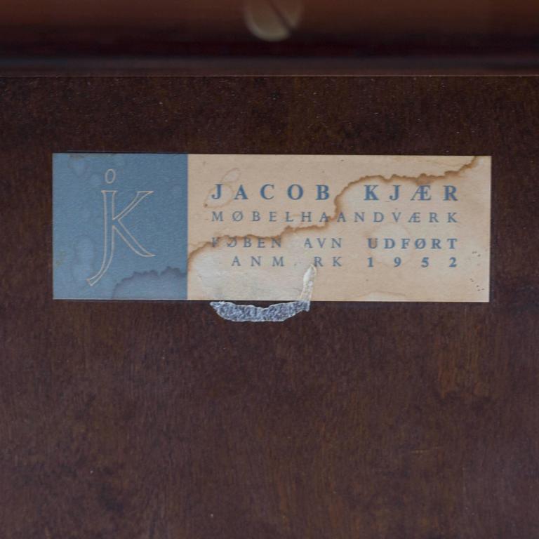 Jacob Kjaer Rosewood Table, 1952 3