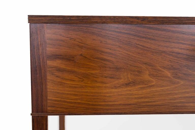 Ole Wanscher Freestanding Rosewood and Brass Desk, A. J. Iversen 7