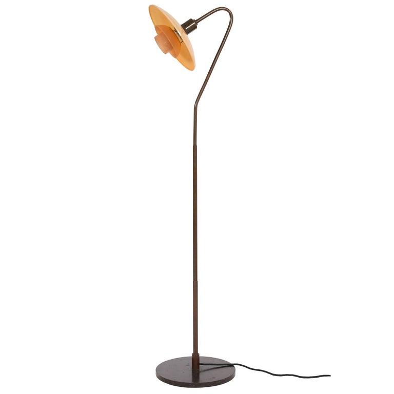 Poul Henningsen, Early 3/2 Standard Lamp, 1931