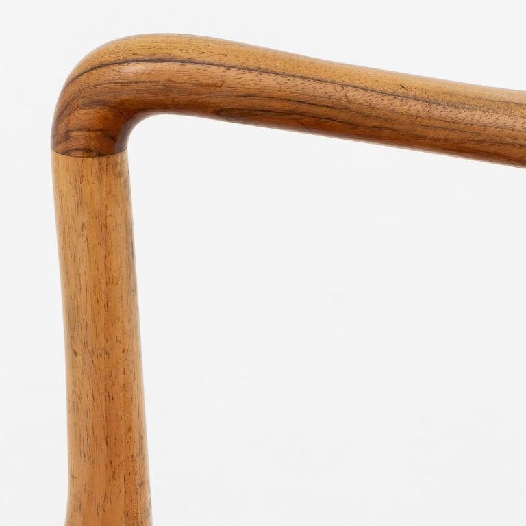 Scandinavian Modern Set of 10 Armchairs by Ole Wanscher For Sale