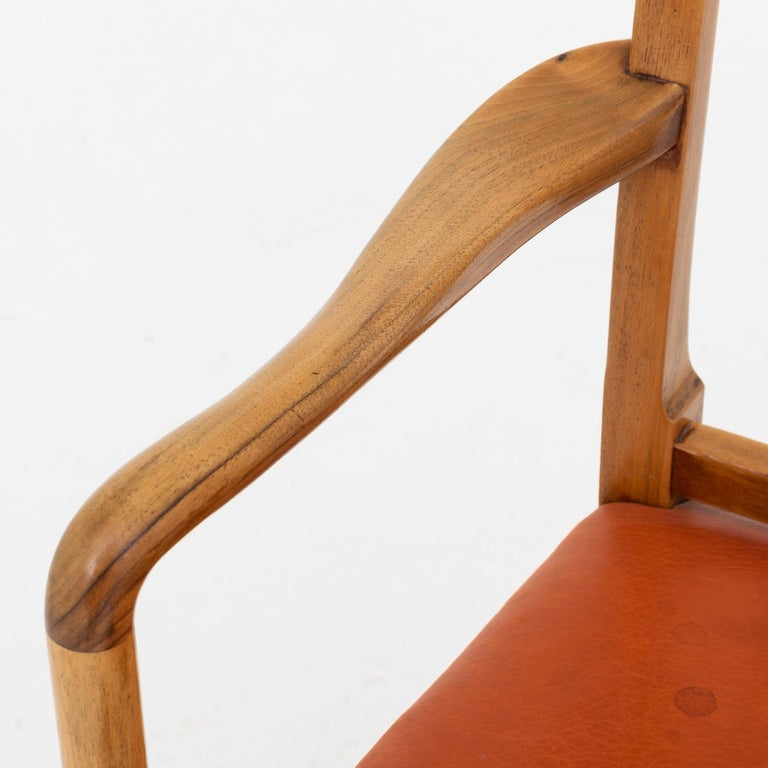 Danish Set of 10 Armchairs by Ole Wanscher For Sale