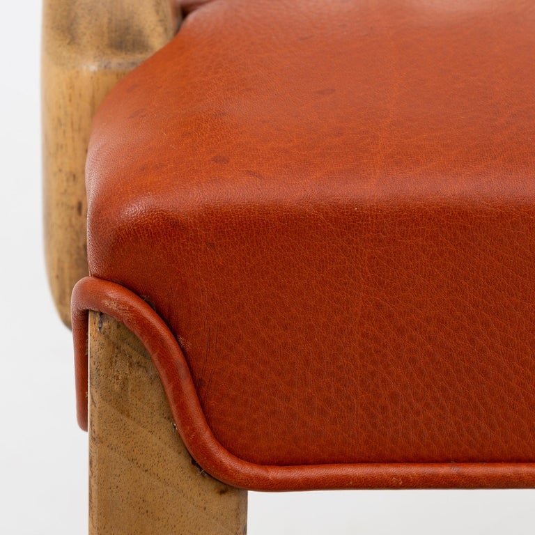 20th Century Set of 10 Armchairs by Ole Wanscher For Sale
