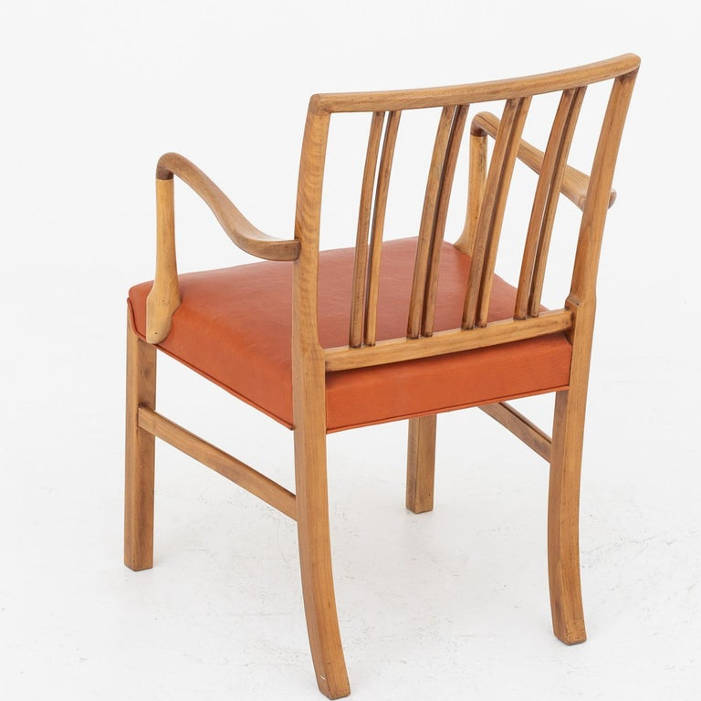 Set of 10 Armchairs by Ole Wanscher For Sale 2