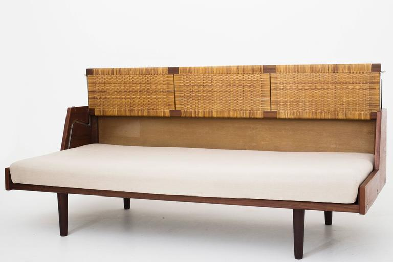 Daybed With Cane At 1stdibs