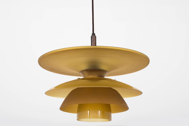 poul henningsen hanging lamp model 4 4 5 4 at 1stdibs. Black Bedroom Furniture Sets. Home Design Ideas