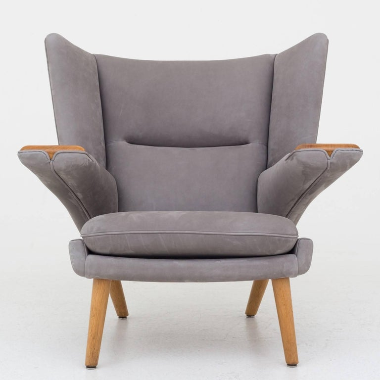 Scandinavian Modern AP 69 Mega Papa Bear Chair by Hans J. Wegner. For Sale