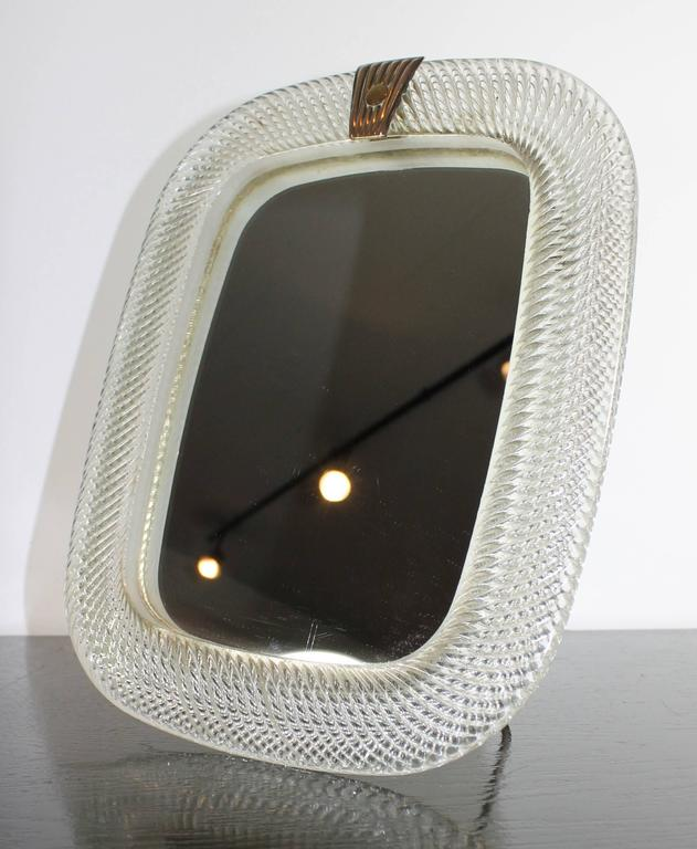 Small Italian (Murano) Mirror From Circa 1960.