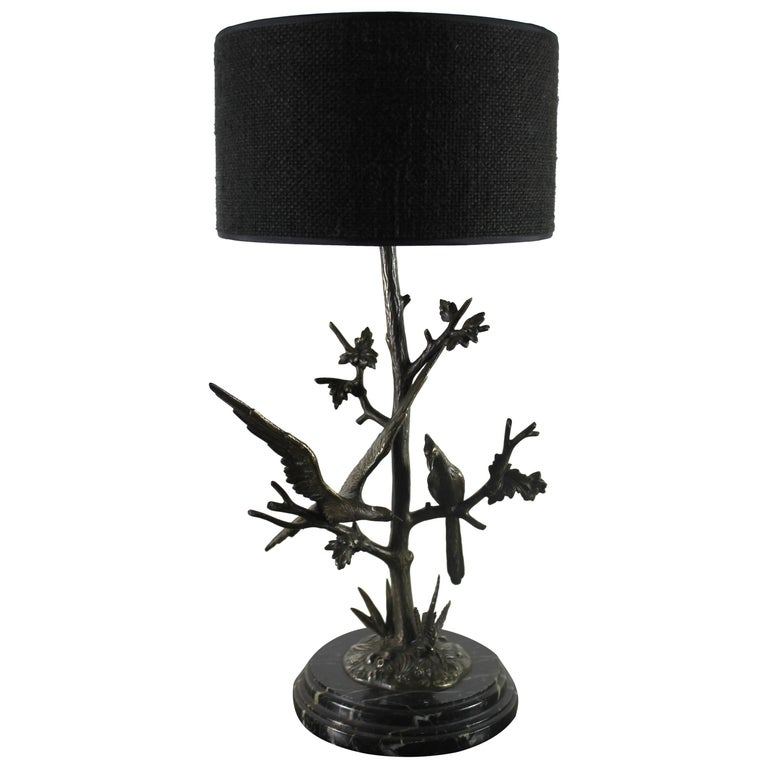 Table Lamp in Bronze, circa 1900 For Sale