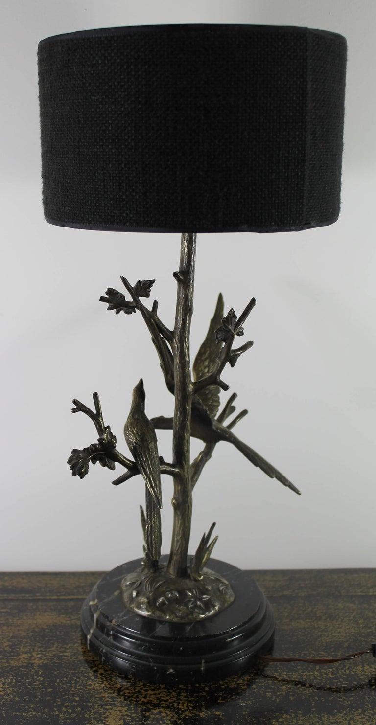 Belle Époque Table Lamp in Bronze, circa 1900 For Sale