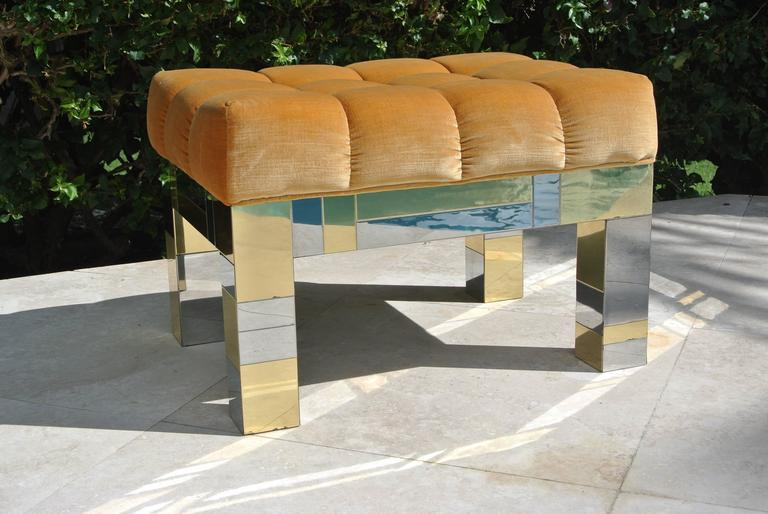 Cityscape Stool By Paul Evans For Sale At 1stdibs