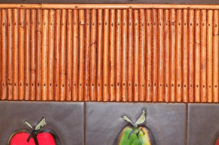 Colette Gueden French Buffet Cabinet Credenza Bamboo Le Printemps Primavera For Sale 3