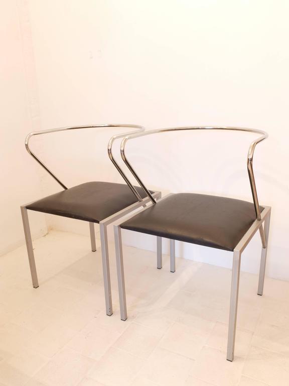 Japanese Shiro Kuramata Apple Honey Side Chairs For Sale