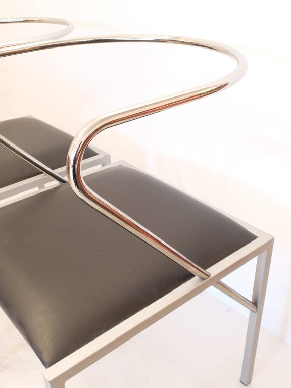 Shiro Kuramata Apple Honey Side Chairs In Excellent Condition For Sale In London, GB