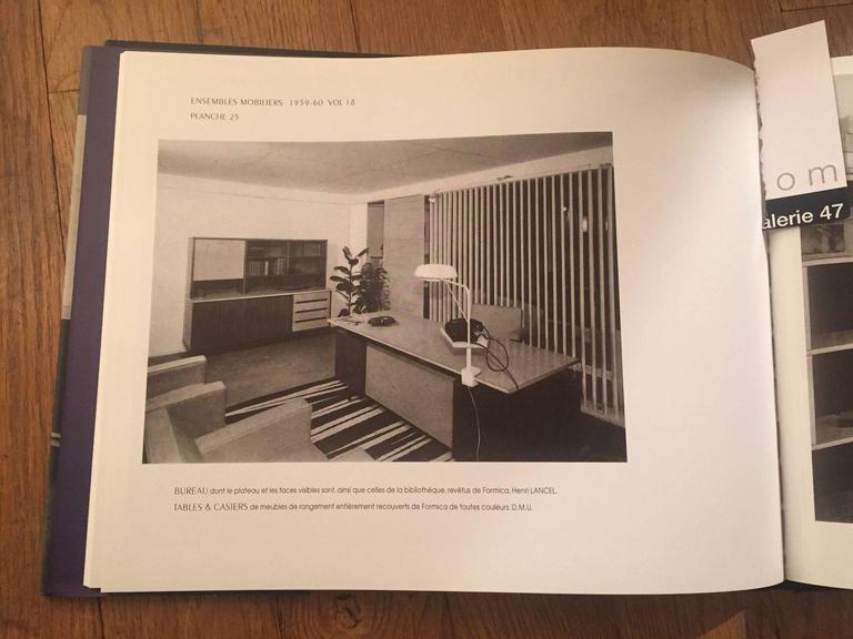 1950 Henri Lancel and Robert Mathieu Agrafée Clamp Desk Lamp  FREE TRANSPORT For Sale 2