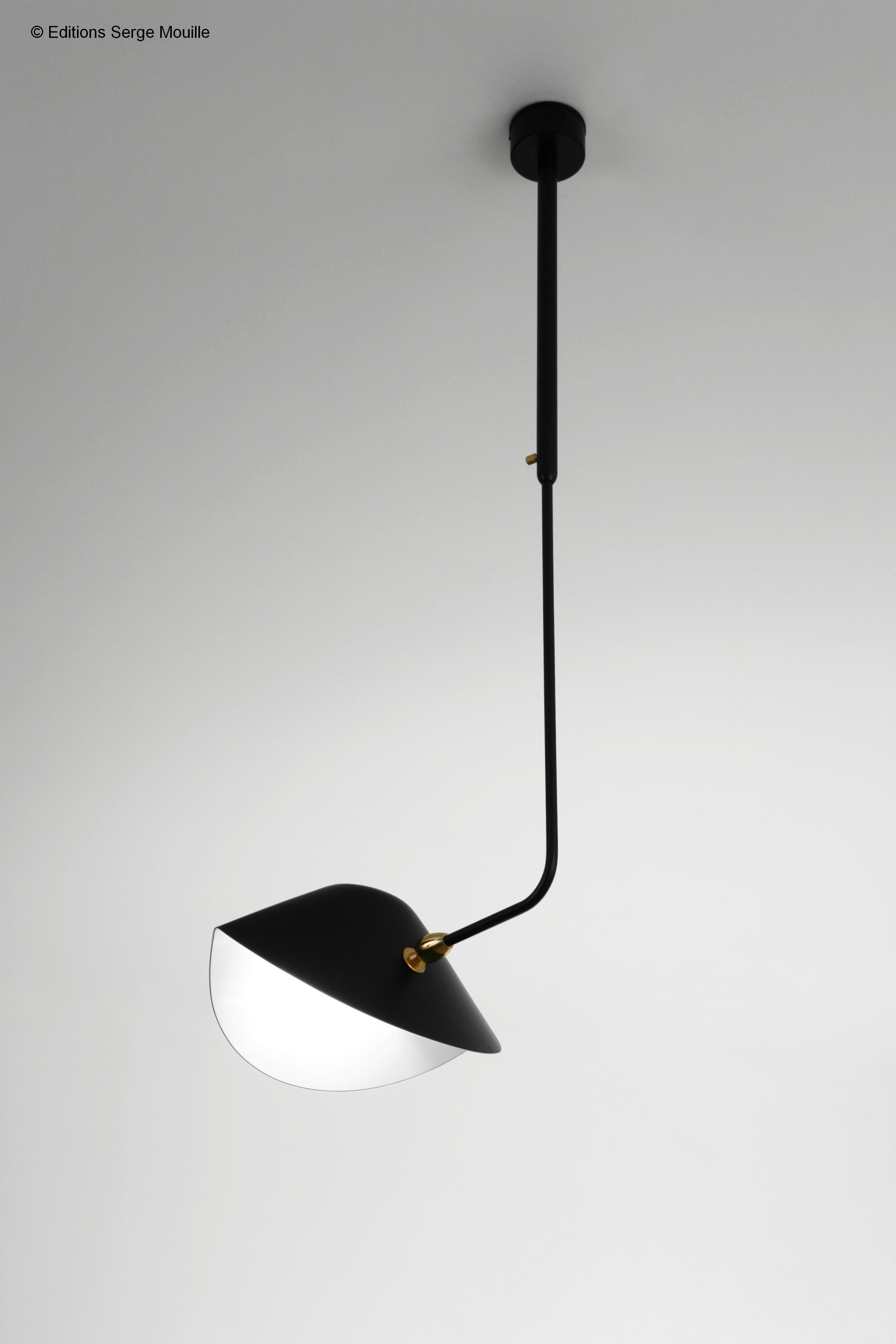 Serge mouille curved ceiling lamp bibliothque editions for sale serge mouille curved ceiling lamp bibliothque editions for sale at 1stdibs arubaitofo Choice Image