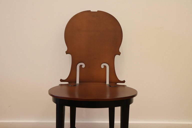 Contemporary Cello Chair by Arman, Number 4/50, Wood, France