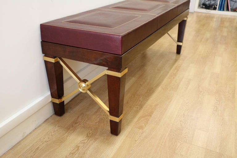 Bench by Raymond Subes (1891-1970) from the years 1940s-1950s. 
