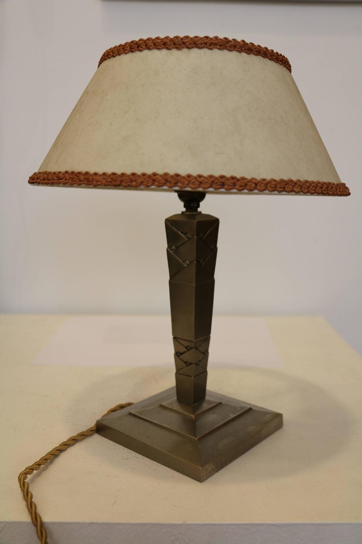 Table Lamp By Edgar Brandt Art D 233 Co France Circa 1925