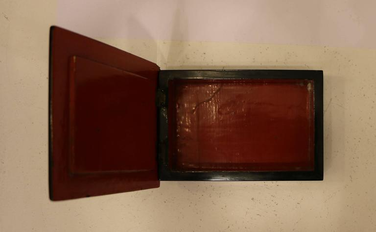 Casket with Eggshell Lacquer, Art Déco, France, circa 1930 In Good Condition In Paris, FR