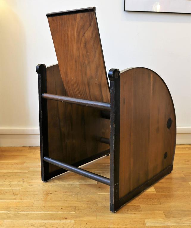 Stunning Pair of Modernist Armchairs, Art Deco, France, circa 1927 For Sale 2
