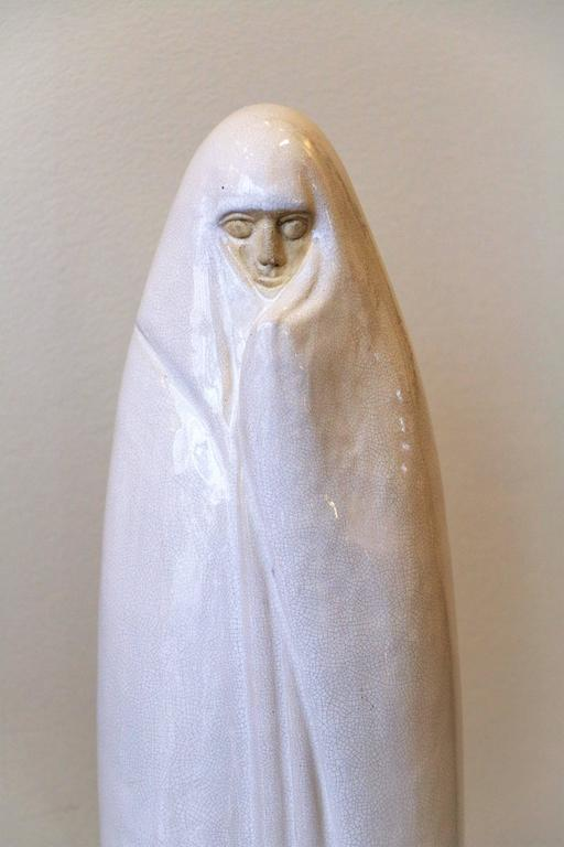 Early 20th Century Oriental Woman from Marrakech by Céline Lepage, France, Art Deco, 1920-1925 For Sale