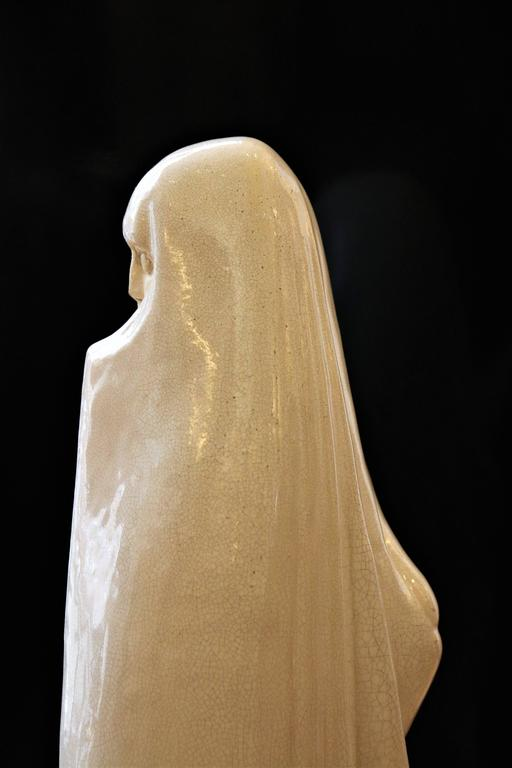 Oriental Woman from Marrakech by Céline Lepage, France, Art Deco, 1920-1925 For Sale 2