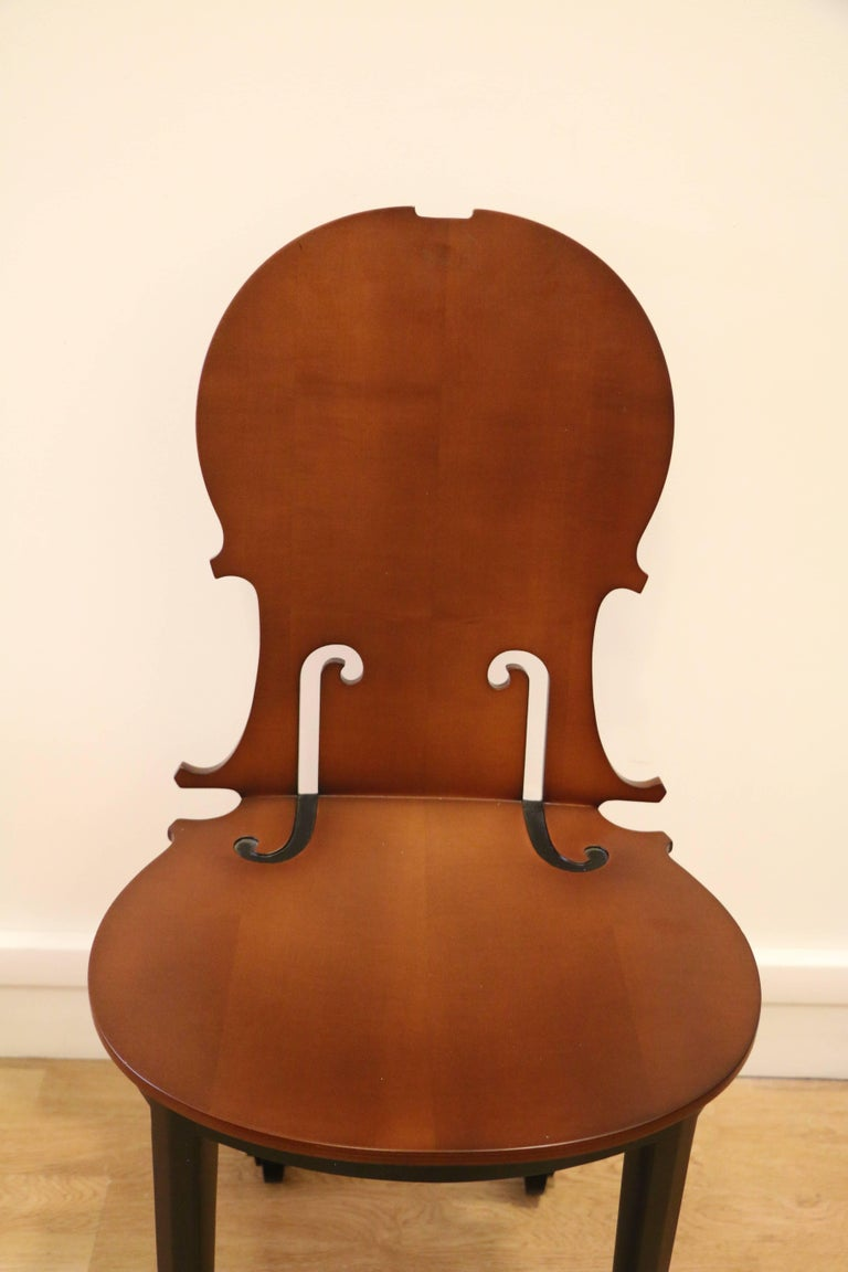 French Cello Chair by Arman, Number 4/50, Wood, France