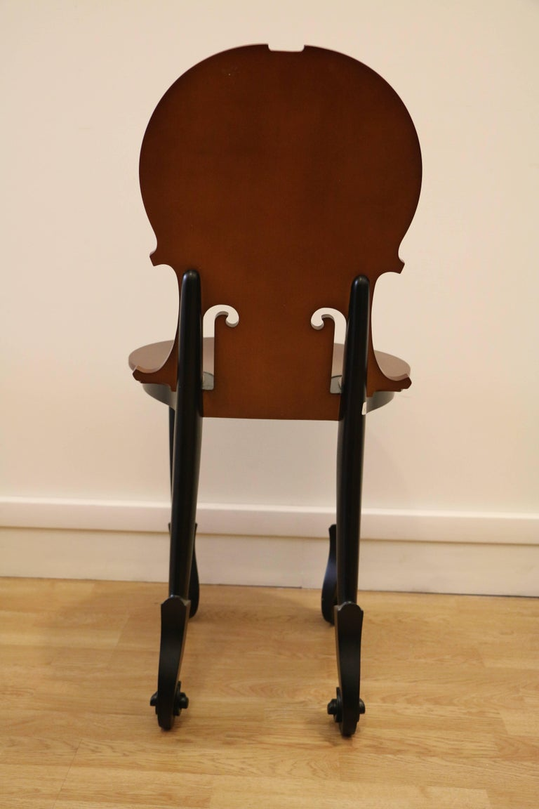 Cello Chair by Arman, Number 4/50, Wood, France 1