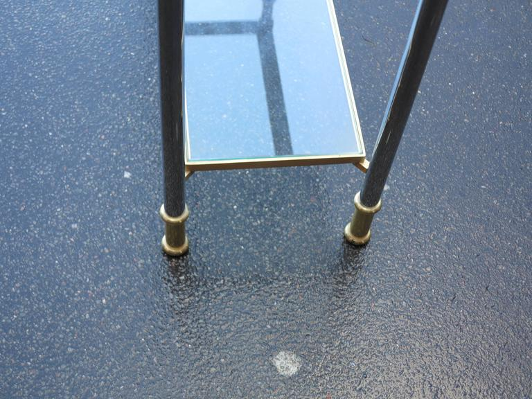 Gilt Console Willy Rizzo or Maison Jansen, 1970-1980 For Sale