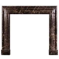 Stylish Marble Bolection Fireplace Mantel