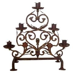 Early 19th Century Fireplace Candelabra