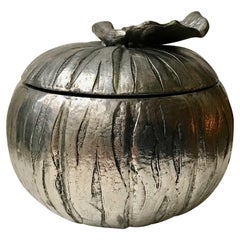 Midcentury Italian Pumpkin Ice Bucket