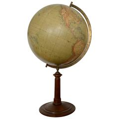 Large German Globe on Stand, Berlin, circa 1900
