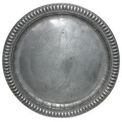 English Pewter Plate