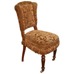 Late 19th Century Victorian Style Slipper or Dining Chair