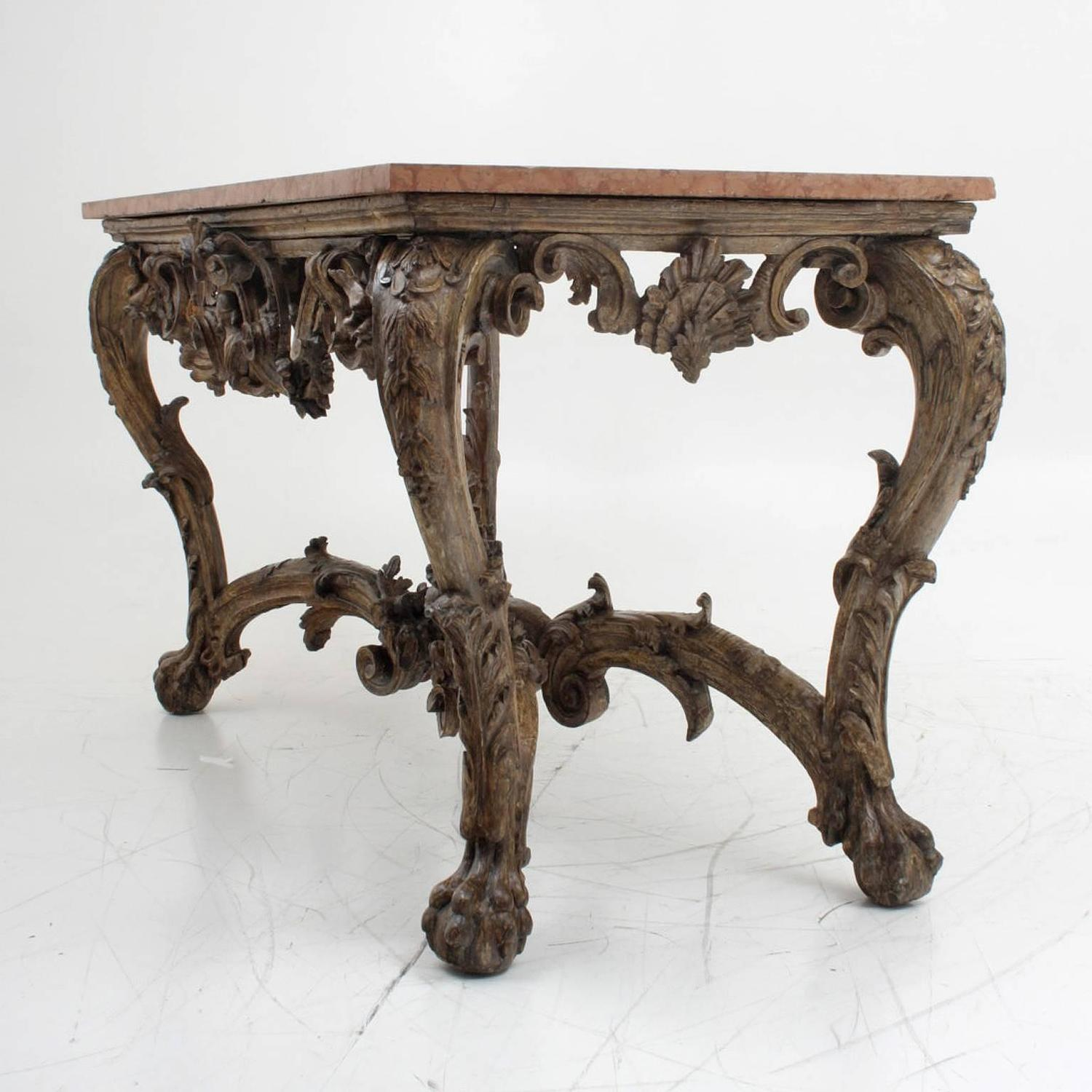 Baroque console italy circa 1700 at 1stdibs for Baroque italien