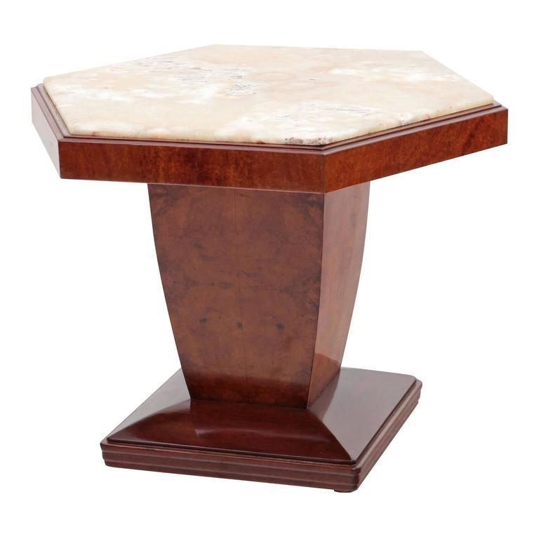 Salon table art deco italy 1940s for sale at 1stdibs for Table salon art deco