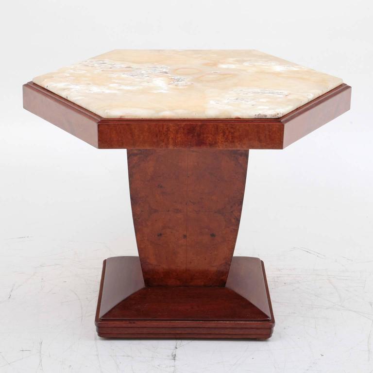 salon table art deco italy 1940s for sale at 1stdibs. Black Bedroom Furniture Sets. Home Design Ideas