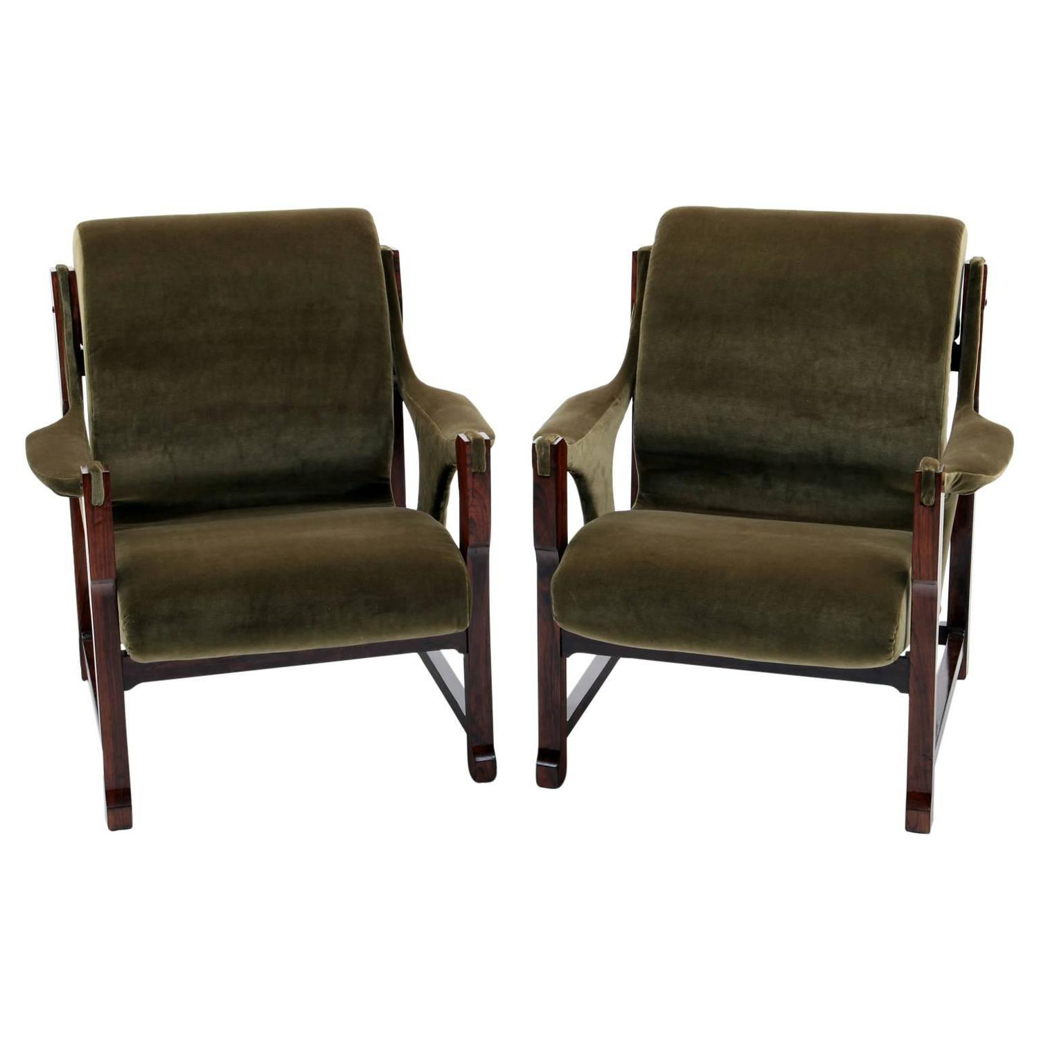 Lounge chairs scandinavia mid 20th century at 1stdibs for Mid 20th century furniture