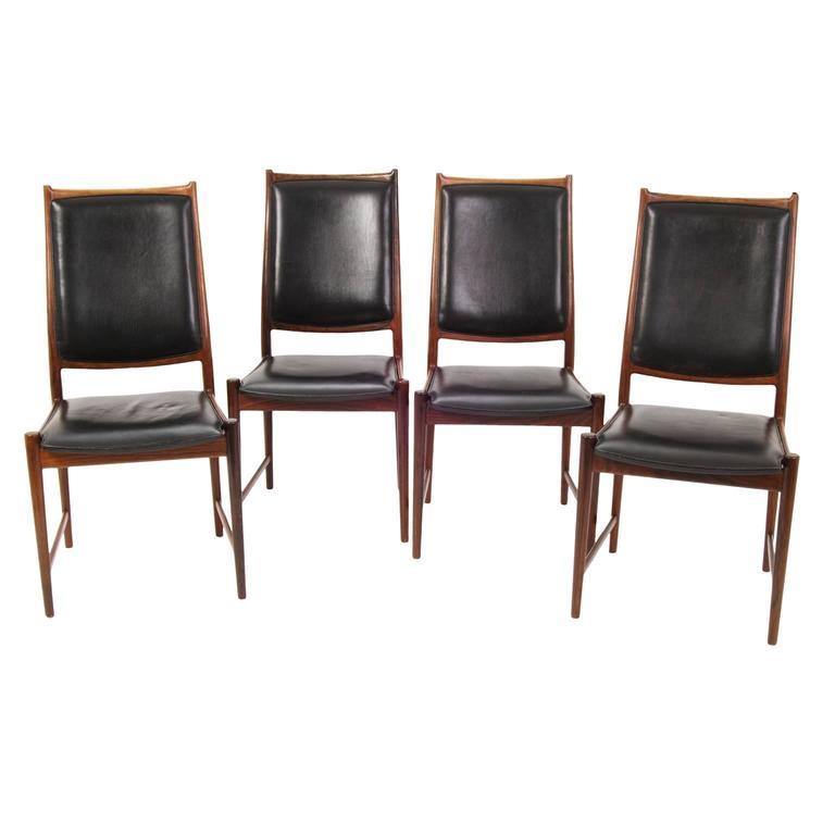 Dining chairs bruksbo by nesjestranda m belfabrikk for Mid 20th century furniture
