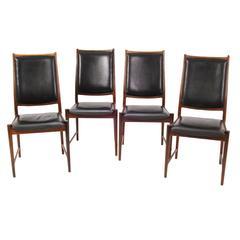 "Dining Chairs ""Bruksbo"" by Nesjestranda Møbelfabrikk, Norway, Mid-20th Century"