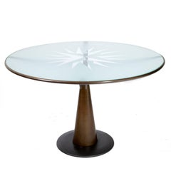 Oscar Tusquets Dining Table 'Astrolabio' for Aleph-Driade, Italy 1980s