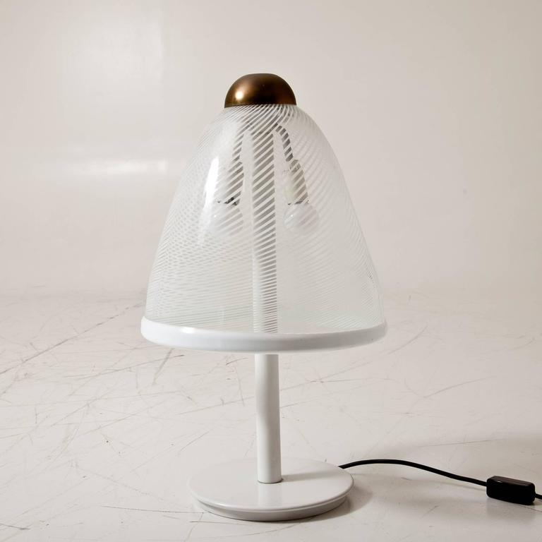Modern Murano Lamp, Italy, 1980s For Sale