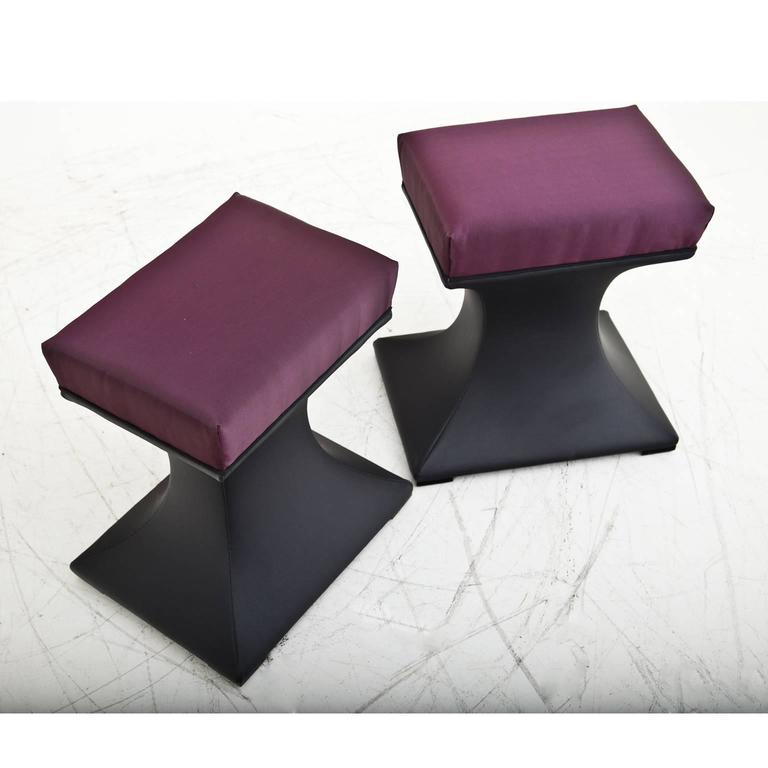 Late 20th Century Modern Stools, 1970s For Sale