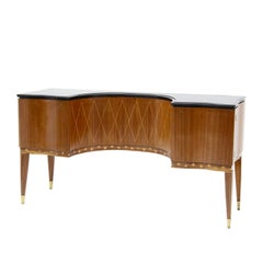 Sideboard Attributed to Paolo Buffa, Italy, 1950s