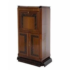Art Deco Bar or Secretaire, Italy, circa 1925-1930