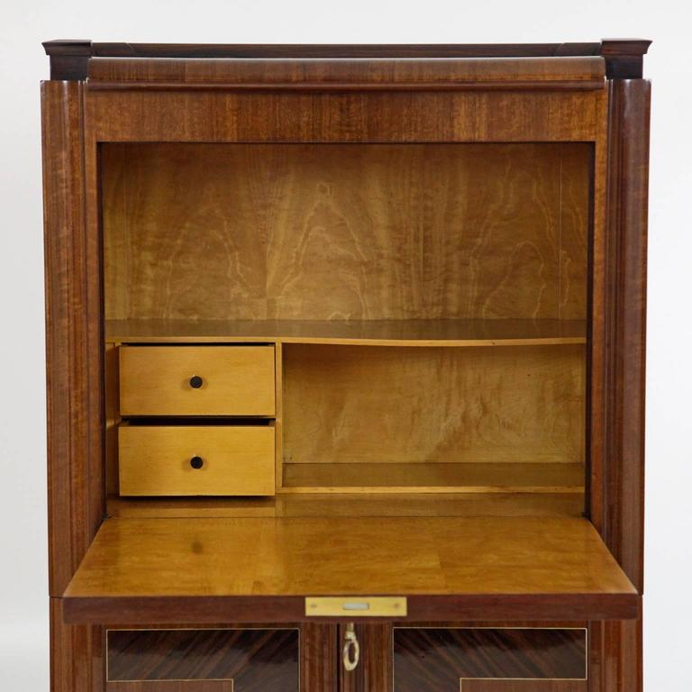 art deco bar or secretaire italy circa 1925 1930 for sale at 1stdibs. Black Bedroom Furniture Sets. Home Design Ideas